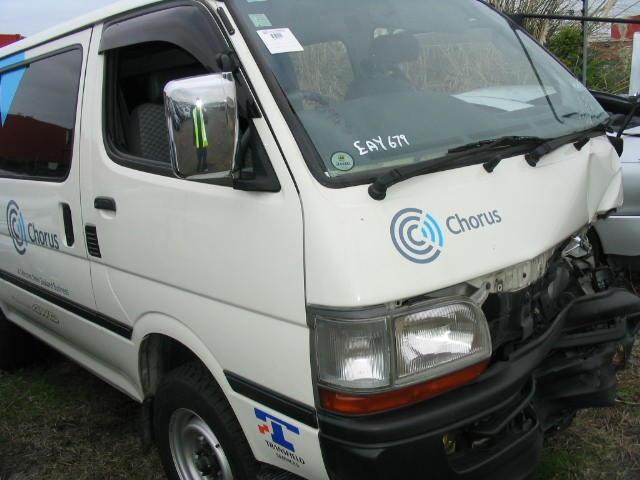 Toyota Hiace 4wd 2001 Active 4x4